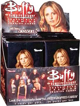 Buffy Series 5 Trading Cards