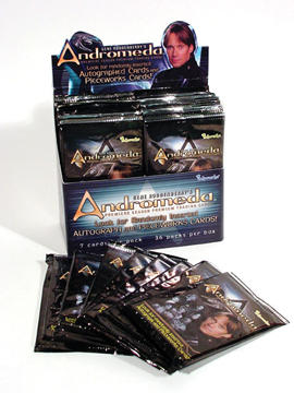 Andromeda Trading Cards