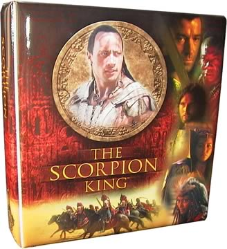 Scorpion King Cards Album