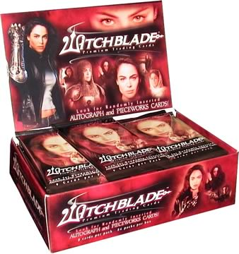 Witchblade Season 1 Cards Box