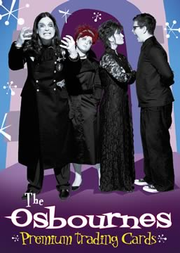 Osbournes Trading Cards Box