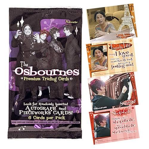 Osbournes Trading Cards Pack