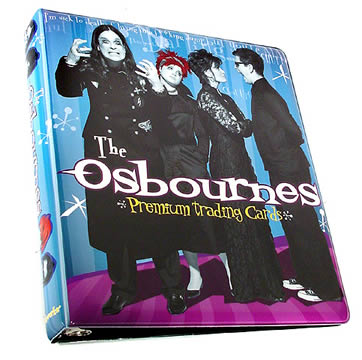 Osbournes Trading Card Album