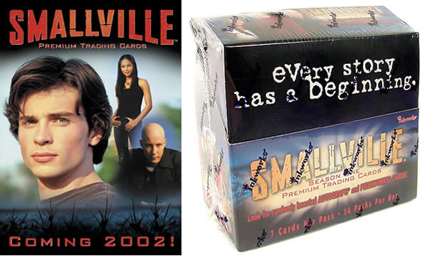 Smallville Trading Cards Box