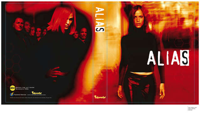 Alias Trading Card Album