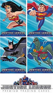 Justice League Premium Trading Card Pack
