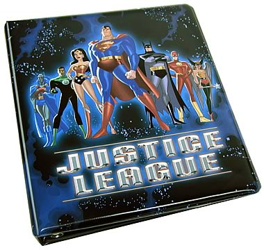 Justice League Cards Album