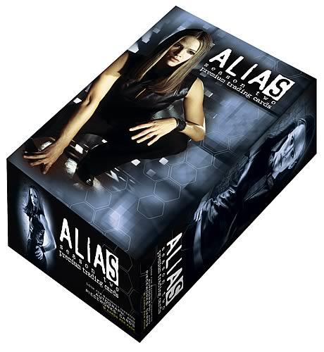 Alias Season 2 Trading Cards Display Box