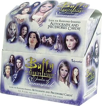 Buffy: Women of Sunnydale Trading Cards Display