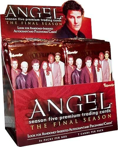 Angel Season 5 Trading Cards 6-Pack