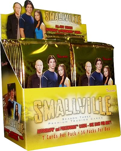 Smallville Season 3 Trading Cards Display Box