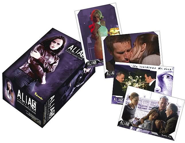 Alias Season 3 Trading Cards Display Box