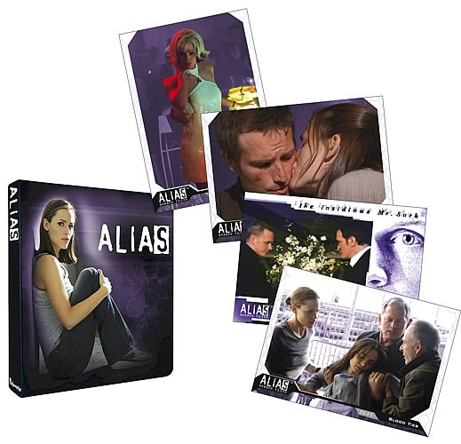 Alias Season 3 Trading Cards 6-Pack