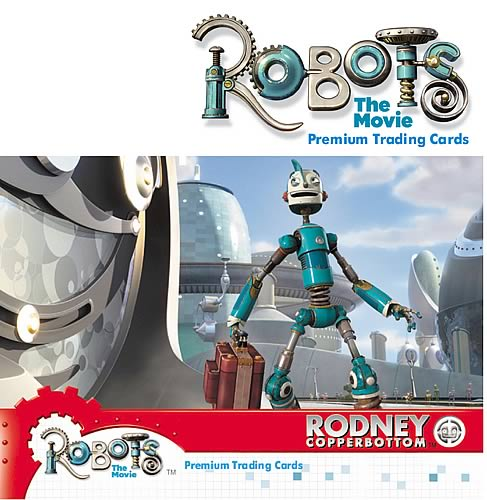Robots Trading Cards 6-Pack