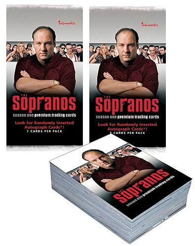 The Sopranos Season 1 Trading Cards 6-Pack
