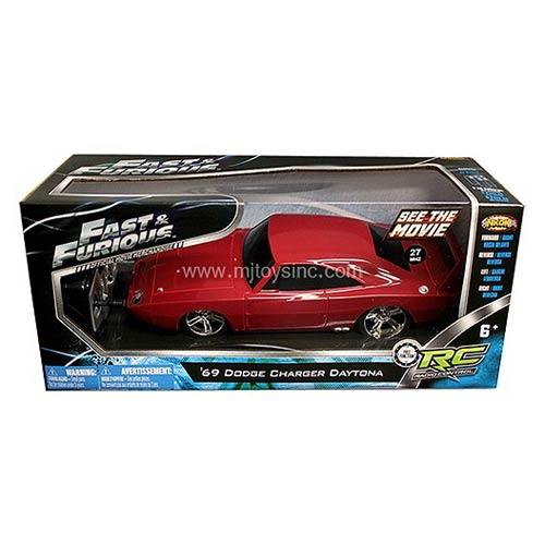 Fast & Furious Dom's Dodge Charger Daytona 1:24 R/C Vehicle