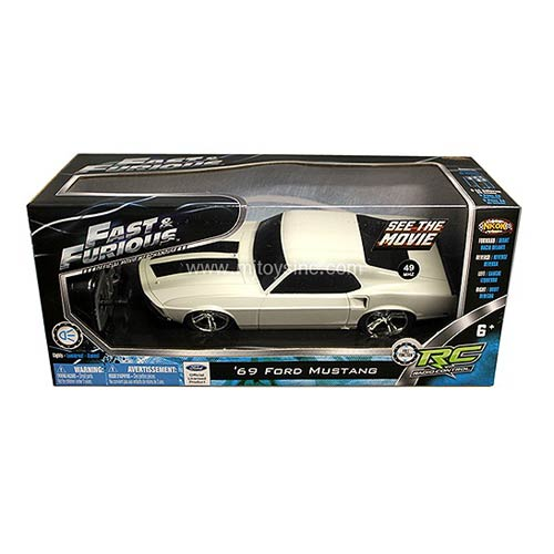 Fast & Furious Roman's 1969 Ford Mustang 1:24 R/C Vehicle