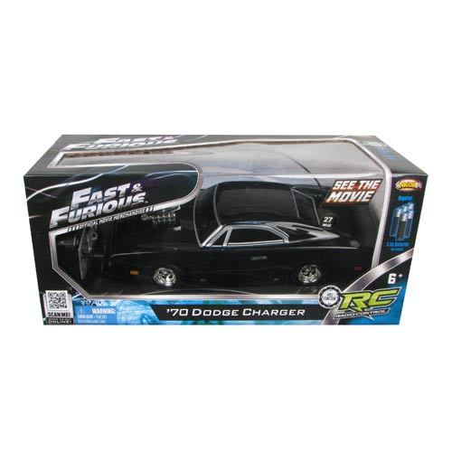 Fast Amp Furious Dom S 1970 Dodge Charger R T 1 24 R C