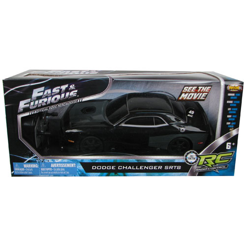 Fast & Furious Dom's 2010 Dodge Challenger 1:24 R/C Vehicle
