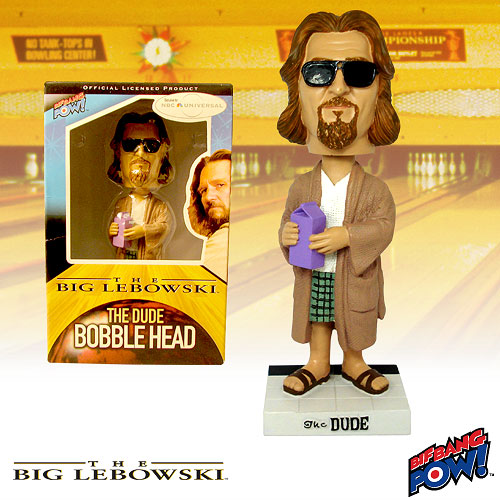 Big Lebowski The Dude (Robe) Bobble Head, Not Mint