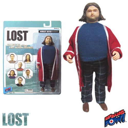 Lost Hurley Reyes 8-Inch Action Fig, Not Mint