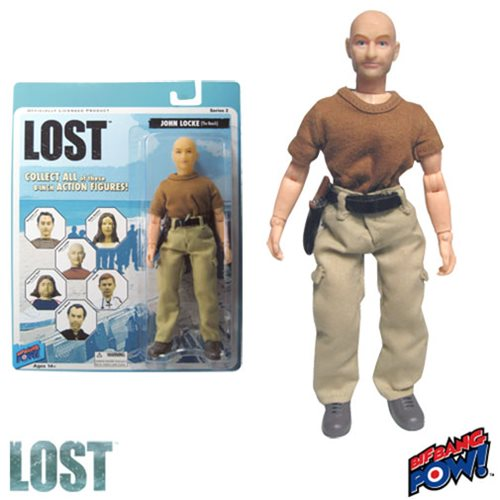John Locke 8-Inch Action Fig, Not Mint
