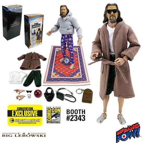 The Big Lebowski The Dude Deluxe 12-Inch Figure, Not Mint
