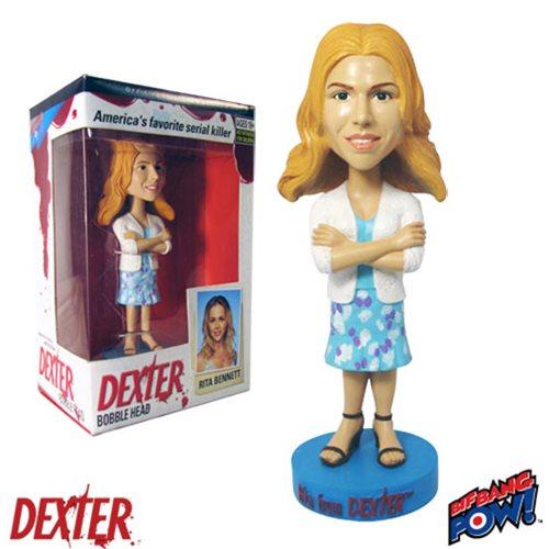 Dexter Rita Bennett Bobble Head, Not Mint