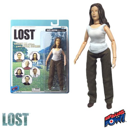 Lost Kate (Oceanic Six) 8-Inch Action Figure, NM