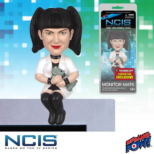 NCIS Abby Monitor Mate Bobble Head - Convention Ex, Not Mint