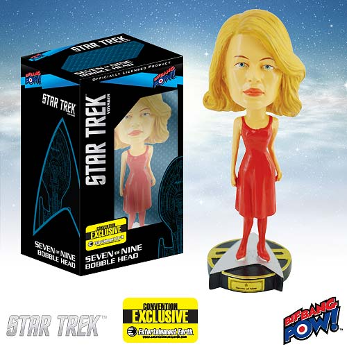 Star Trek Seven of Nine Bobble Head - Exclusive, Not Mint