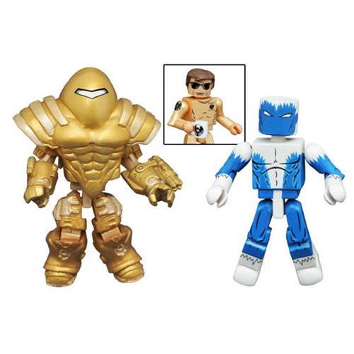 Marvel Minimates Blizzard and Mandroid 2-Pack, Not Mint
