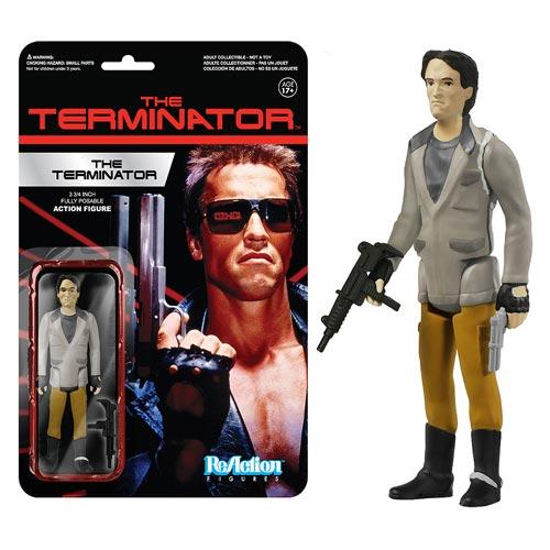 Terminator One Tech Noir ReAction Action Figure, Not Mint