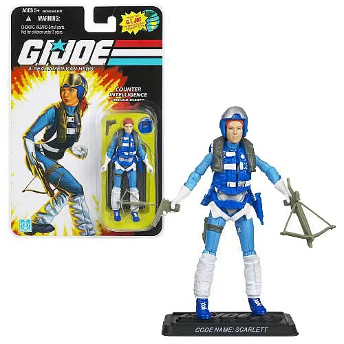 G.I. Joe 25th Anniversary Scarlett Action Figure, Not Mint