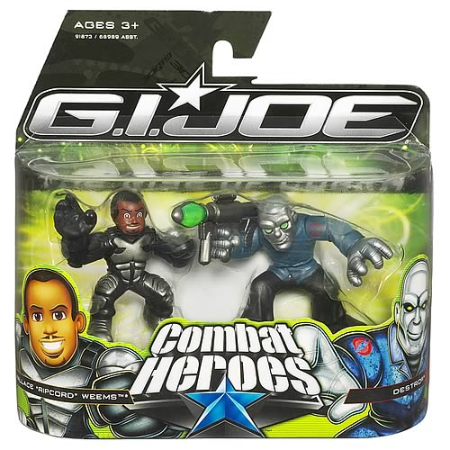 G.I. Joe Combat Heroes Wallace Weems & Destro , Not Mint