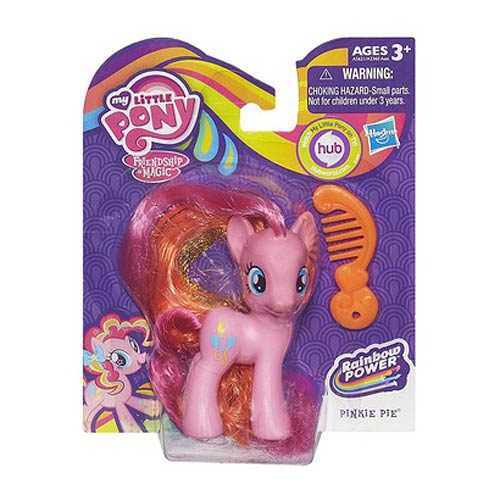 My Little Pony 2013 Crystal Pony Pinkie Pie Figure, Not Mint