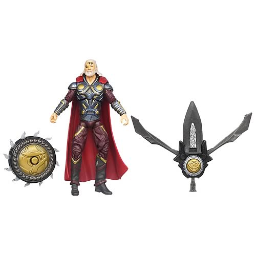 Thor Movie Asgardian Glow Marvel's Odin Figure, Not Mint