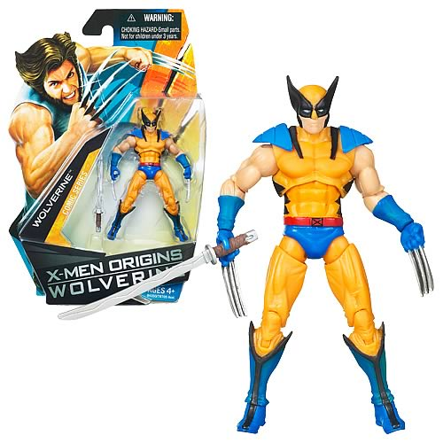 Wolverine Movie Wolverine (Yellow Costume) Figure, Not Mint
