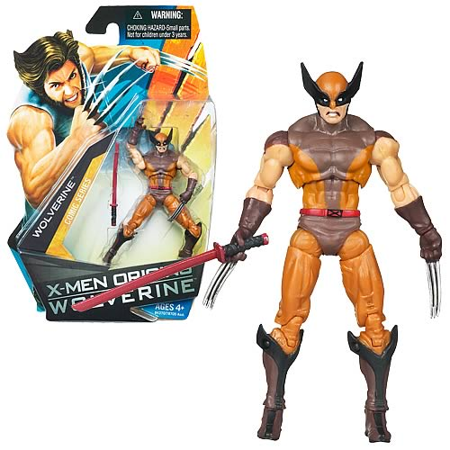 Wolverine Movie Wolverine (Brown Costume) Figure, Not Mint