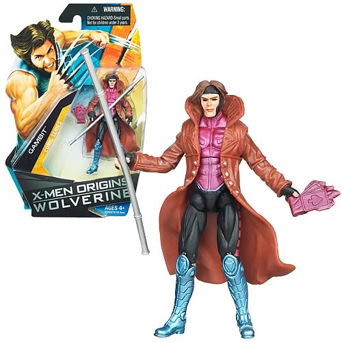 Wolverine Movie Gambit Action Figure, Not Mint