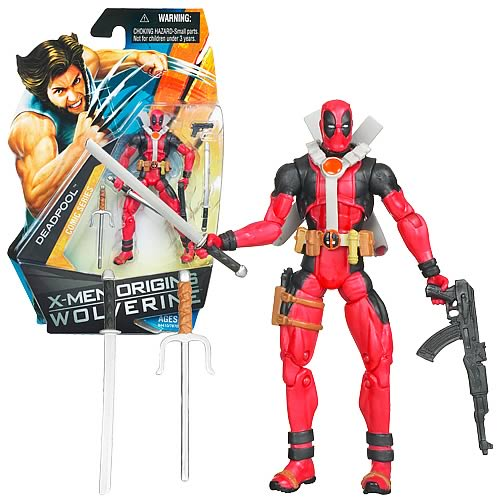 Wolverine Movie Deadpool Action Figure, Not Mint