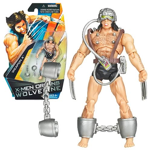 Wolverine Movie Weapon X Action Figure, Not Mint