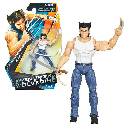 Wolverine Movie Logan Action Figure, Not Mint