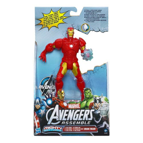Marvel Mighty Battlers Iron Man Action Figure , Not Mint