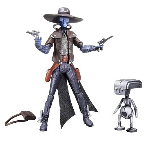 Star Wars Clone Wars Cad Bane Action Figure, Not Mint