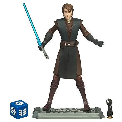Star Wars Clone Wars Anakin Skywalker Action Figure, NM