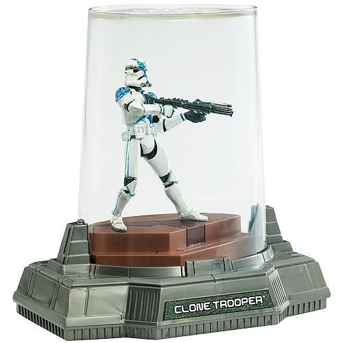 Star Wars Titanium Series Clone Trooper Die-Cast Figure