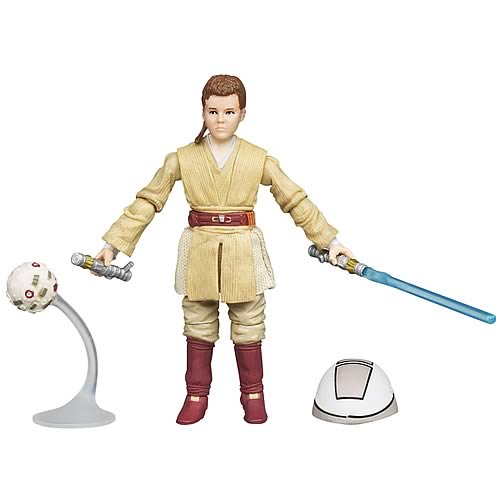 Star Wars 2012 Young Anakin Skywalker Figure, Not Mint