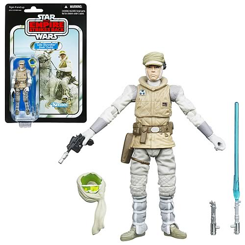 Star Wars 2012 Luke Skywalker (Hoth Outfit) Figure, Not Mint