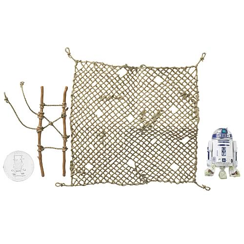 Star Wars 30th Anniversary R2-D2 with Cargo Net Figure, NM